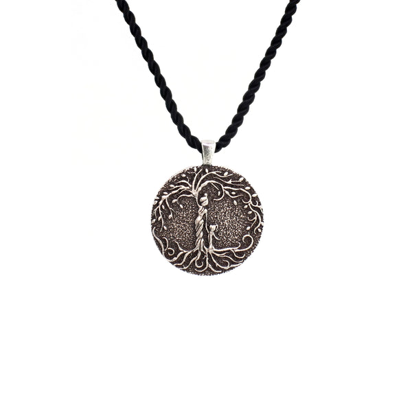 Mom & Daughter 'Tree of Life' Pendant Necklace [Silver]