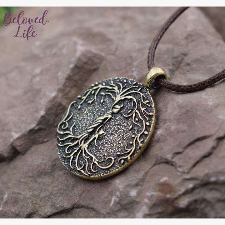 Beloved Life Jewelry: Mom & Daughter 'Tree of Life' Pendant Necklace [Bronze]