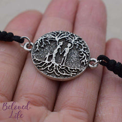 Beloved Life Jewelry: Parents & Son 'Tree of Life' Pendant Bracelet [Silver]