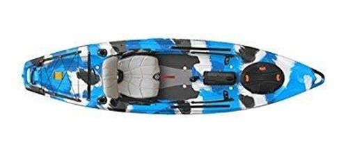 FeelFree Lure 11.5 Kayak w/ Sonar and Electronic Pod Blue Camo