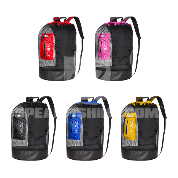 Stahlsac Bonaire Mesh Backpack (Choose Black, Blue, Red, Yellow or Pink)