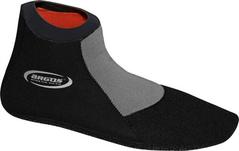Argos 2mm Stealth Shorty Neoprene Fin Booties