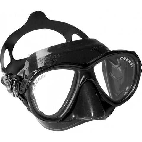 Cressi Eyes Evolution Black Dive Mask