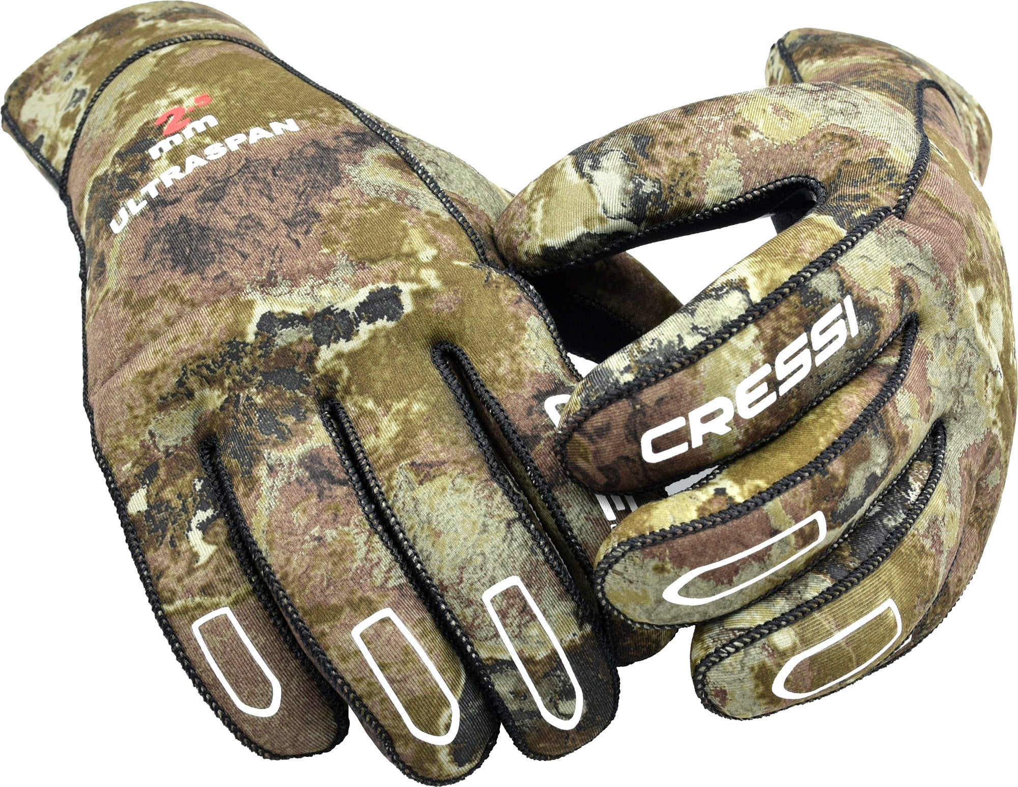 Cressi Camo 2.5mm Ultraspan Neoprene Dive Gloves