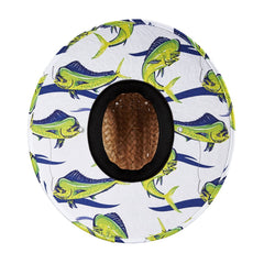 Hemlock Good Fight Mahi Straw Drawstring Hat HEM-GF9139128