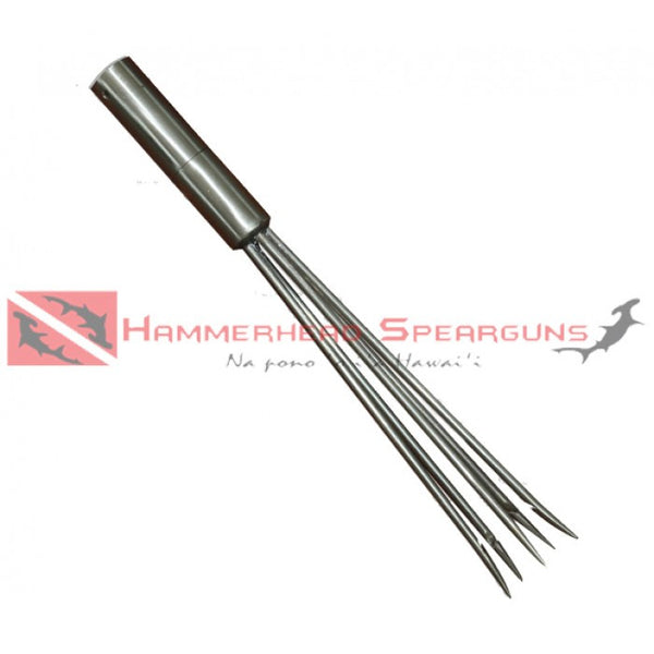 "Hammerhead Spearguns 5 Prong Polespear Head for Hammerhead Shorty 24"" and Pro 42"" Polespears"