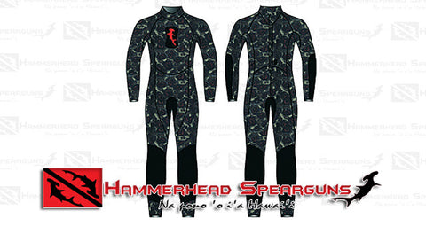 Hammerhead Spearguns Ambush 2mm Deep Reef Neoprene Freediving Wetsuit