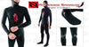 Image of Hammerhead Spearguns Benthos 7mm Black Open Cell Men's Neoprene Freediving Wetsuit