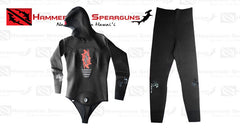 Hammerhead Spearguns Benthos 1.5mm Black Open Cell Women's Neoprene Freediving Wetsuit