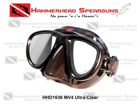 Hammerhead Spearguns MV4 Dive Mask