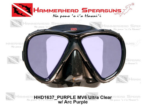 Hammerhead Spearguns MV6 Dive Mask