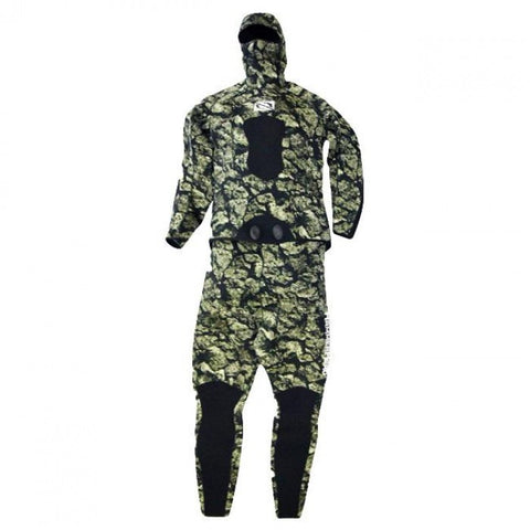Hammerhead Spearguns Volcano 3mm 3D Camo Open Cell Neoprene Freediving Wetsuit