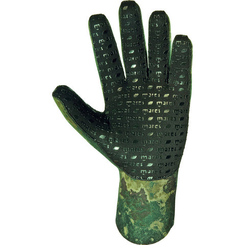 Mares 3mm Green Camo 30 Neoprene Dive Gloves