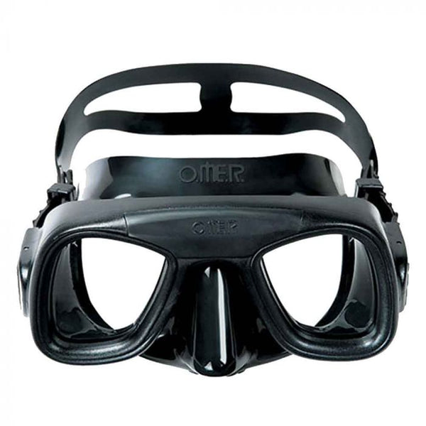 Omer Abyss Black Silicone Freediving Mask MS131111