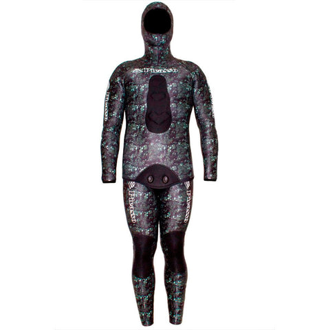 Picasso Phantom 1.5mm Open Cell Neoprene Two Piece Freediving Wetsuit