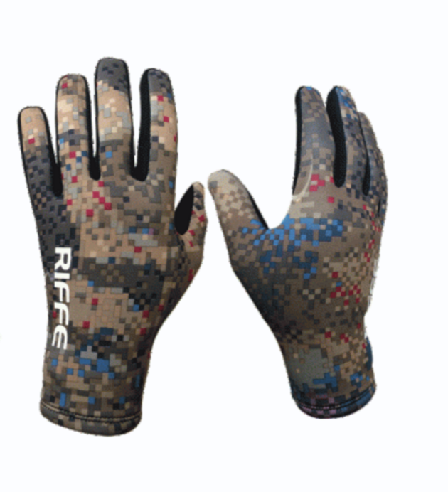 Riffe Amara 2mm Covi-Tek Camo Neoprene Diving Gloves