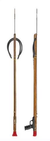 Riffe Competitor Series Spearguns with Rear Handle (Teak Wood)
