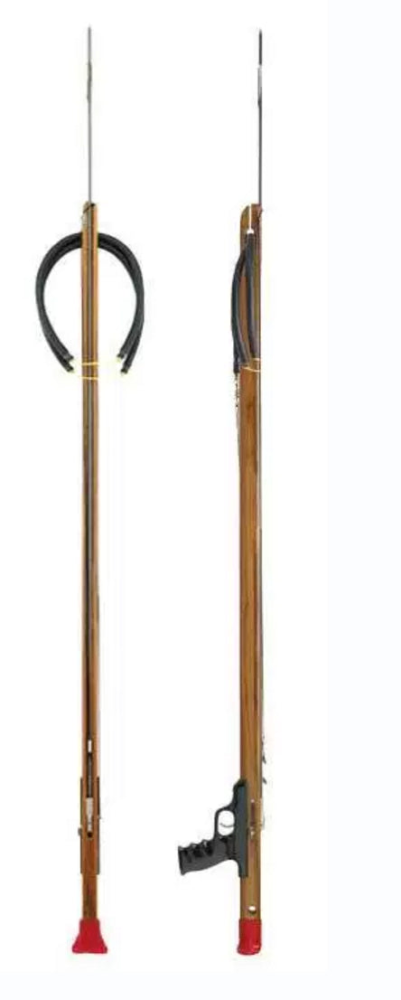 Riffe Competitor X Series Spearguns with Rear Handle (Teak Wood)