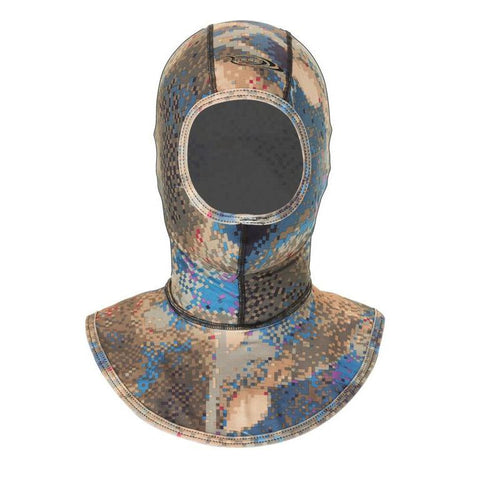 Riffe Camo Lycra Freediving Wetsuit Hood