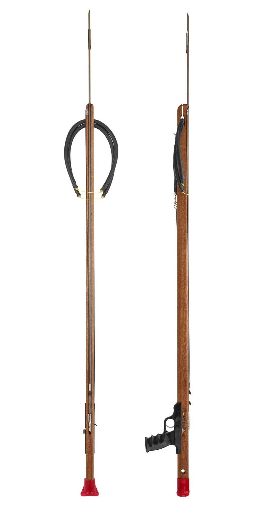 Riffe Mahogany Competitor Spearguns with Rear Handle