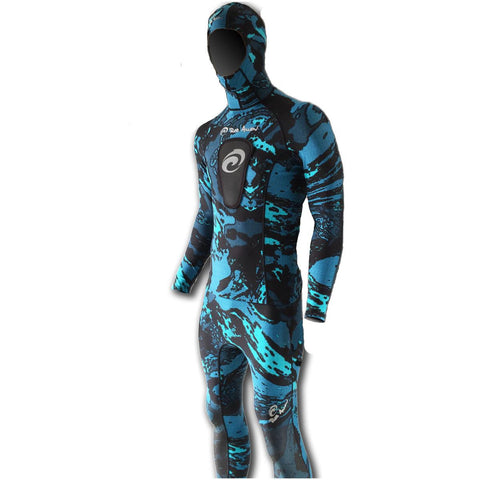 Rob Allen 3mm Bluewater Camo Freediving Wetsuit