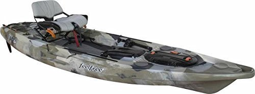 FeelFree Lure 11.5 Kayak w/ Sonar and Electronic Pod - Desert Camo