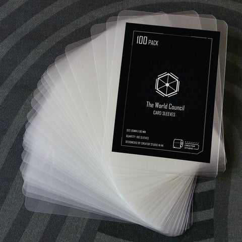 卡套 Card Sleeves Pack (200 Sleeves) - Creator Studio