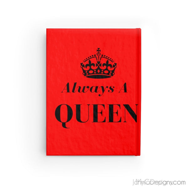 Always A Queen - Journal - Blank (Red)