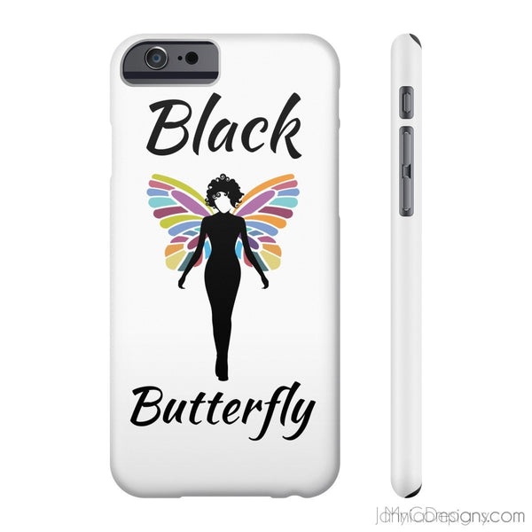 Black Butterfly Phone Cases