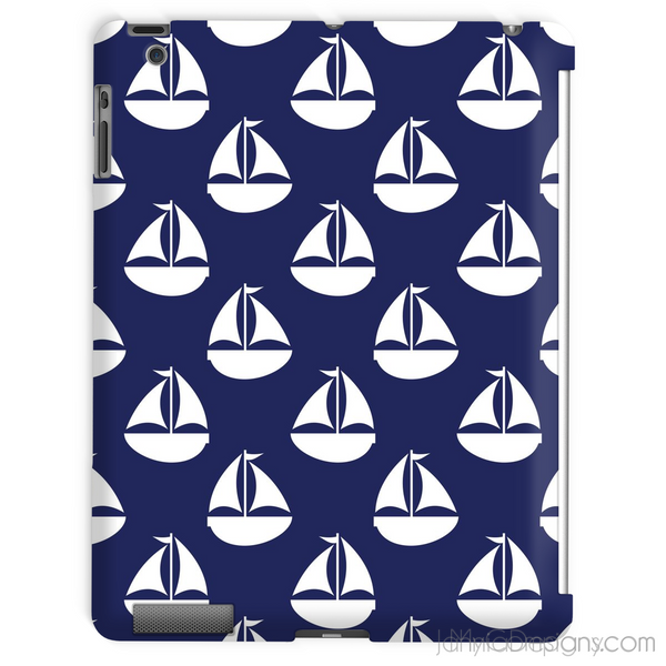 Blue Nautical Tablet Case-Phone & Tablet Cases-Jahnia Designs