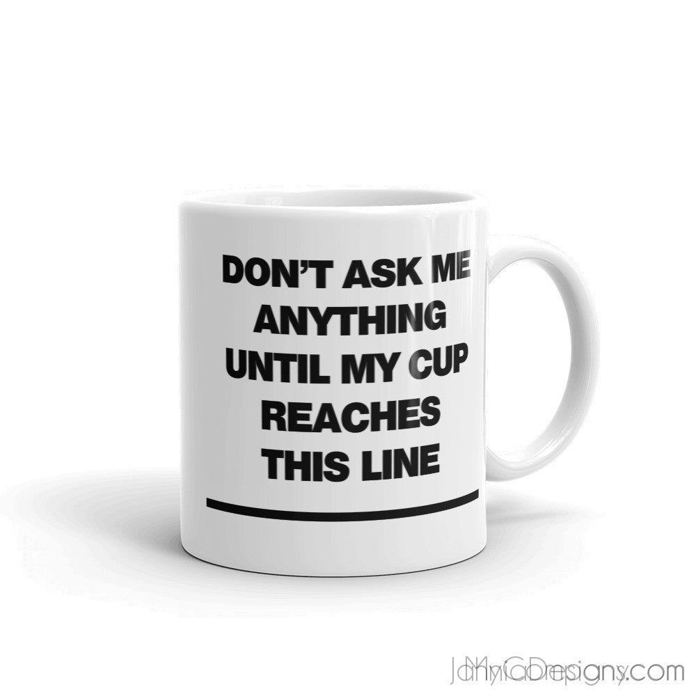 Don't Ask Mug-Mugs-Jahnia Designs