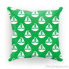Green Nautical Cushion