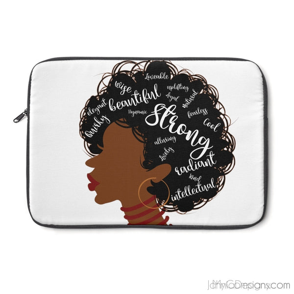 I AM Laptop Sleeve-Laptop Sleeve-Jahnia Designs