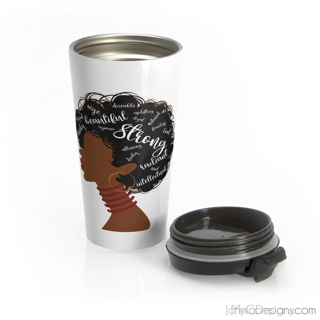I AM Travel Mug-Mug-Jahnia Designs