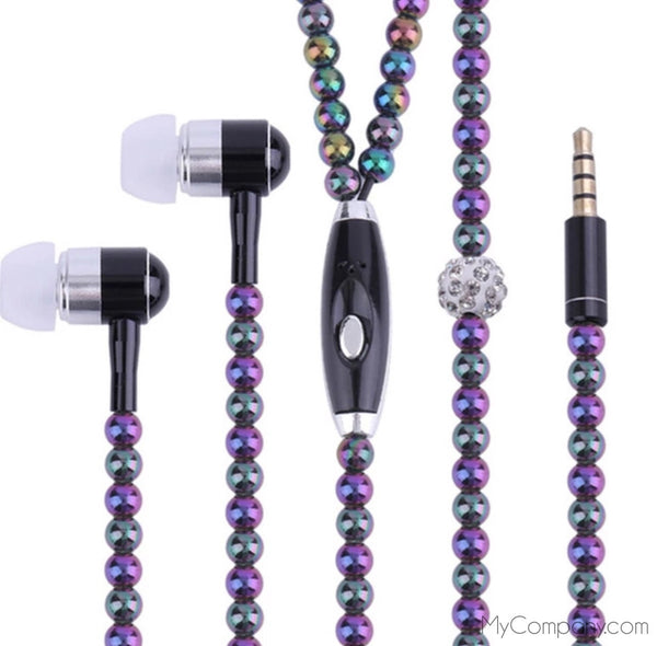 June Baby Pearl Earbuds-Tech Accessories-Jahnia Designs