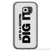 Life is a Nostril Dig It Phone Case