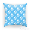 Light Blue Nautical Cushion