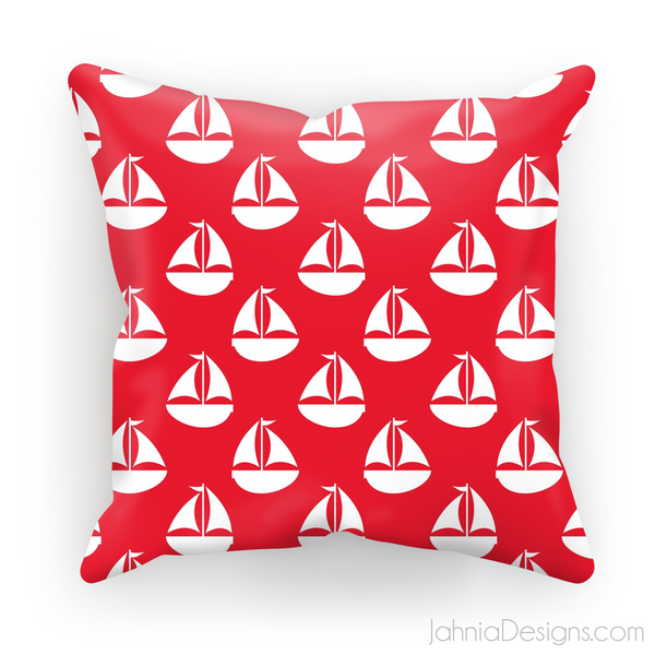 Red Nautical Cushion