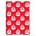 Red Nautical Tablet Case-Phone & Tablet Cases-Jahnia Designs