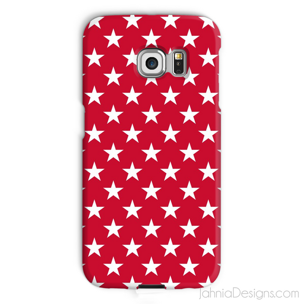 Red Superstar Phone Case-Phone & Tablet Cases-Jahnia Designs
