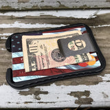 Dragonscale Tactical Wallet / Bottle Opener - Anodized/Stonewashed