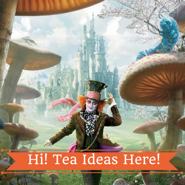 Ideas for kid's tea party