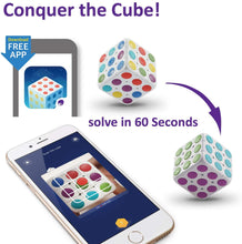 Load image into Gallery viewer, 3D Puzzle Cube anyone can learn to solve! Brain Teaser AR Technology Toy for Kids cube 3x3 - KidMate
