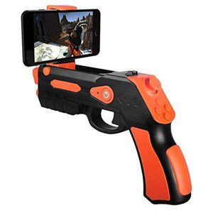 AR Gun - Target Games Augmented Reality, Safe and Novelty Toys for Adults Kids Boys Girls Teens Controller Suitable for All Phones iPhone Models, Samsung Galaxy Series and Other Androids