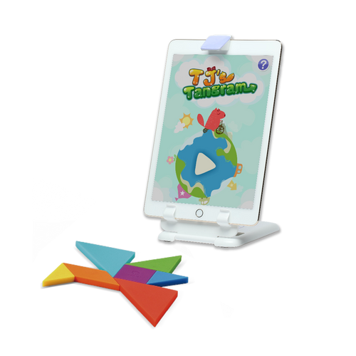 TJ Tangram - Traditional Puzzle and Geometry game with AR Technology - KidMate