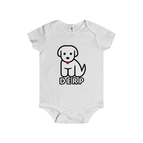 Derp Puppy - Infant Rip Snap Tee