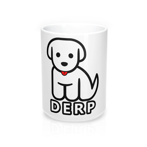 Derp Puppy - Mug 15oz