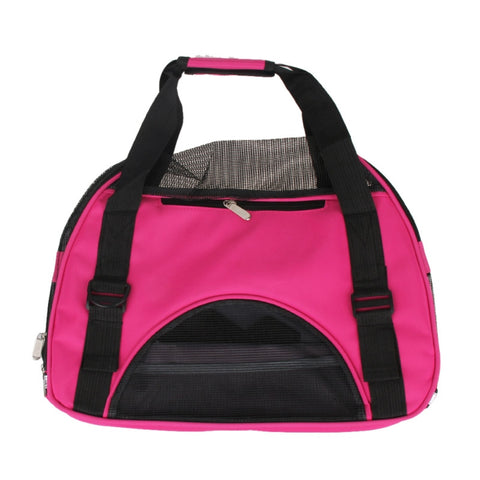 Hot Pink!! Mesh Cat or Dog Carrier