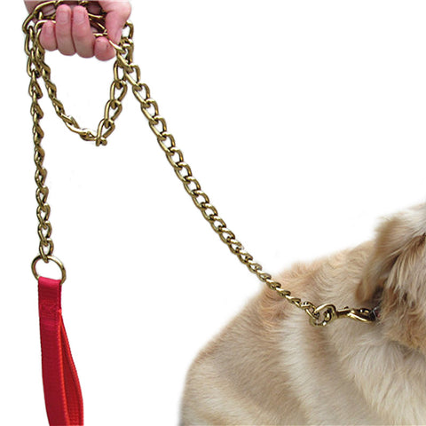 Gold & Multi-Color Dog Leashes 3.9ft for Dog Walking in Style!!