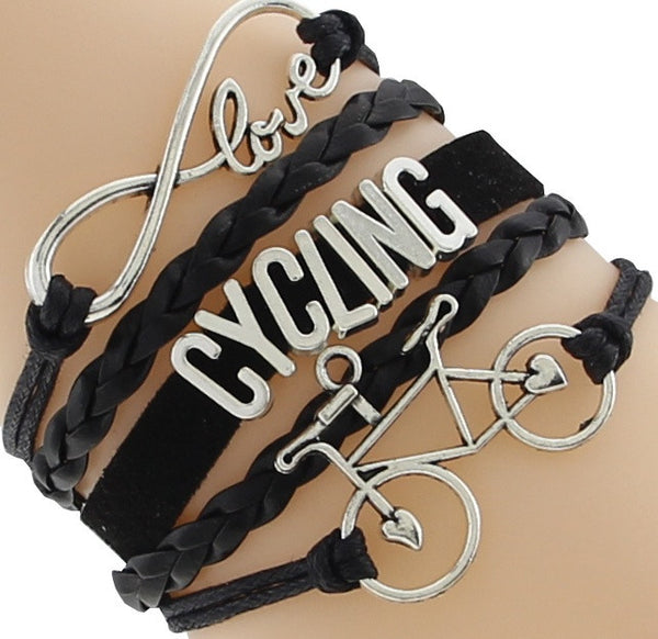 Love Cycling Bracelet